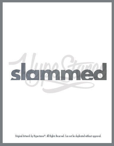 Slammed Sticker - Hypestance, Car sticker
