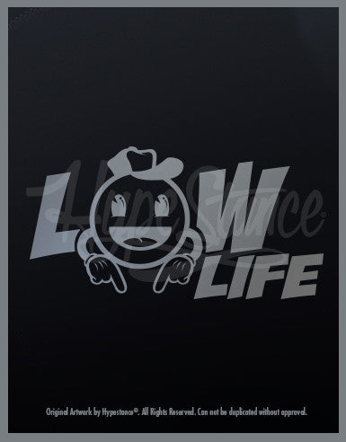 Low Life Emoji Sticker - Hypestance