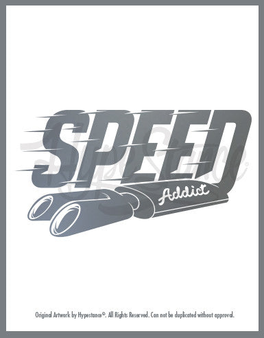Speed Addict Sticker