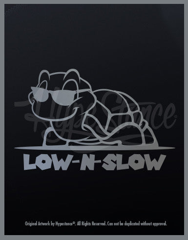 Low N Slow Turtle Sticker - Hypestance