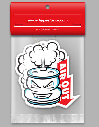 Air Out Die Cut Air Freshener - Hypestance, Air Freshener
