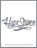 HypeStance Script Sticker - Hypestance, Car sticker