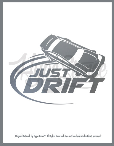 Copy of Just Drift Vinyl Sticker - Hypestance, Car sticker