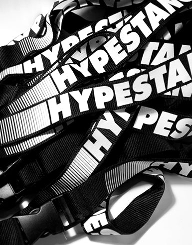 Black and White HypeStance Lanyard - Hypestance