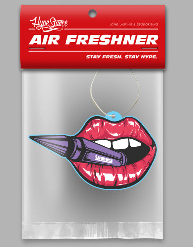 Hot Lips Die Cut Air Freshener - Hypestance