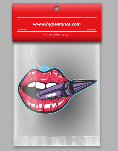Hot Lips Die Cut Air Freshener - Hypestance, Air Freshener