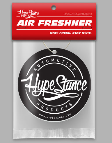 HypeStance Black Medallion - Stay Hype - Air Freshener - Hypestance
