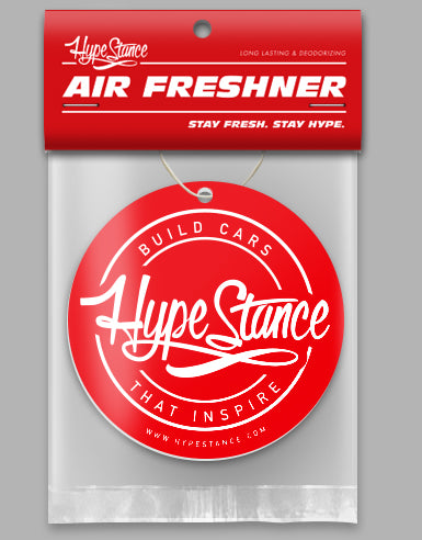 HypeStance Red Medallion - The Hype Life - Air Freshener - Hypestance
