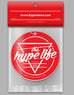 HypeStance Red Medallion - The Hype Life - Air Freshener - Hypestance, Air Freshener