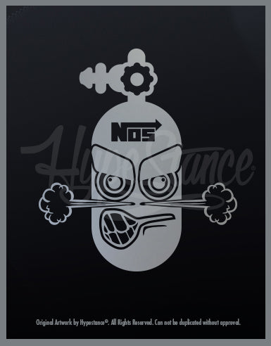 NOS Purge Character Vinyl Sticker - Hypestance, Car sticker