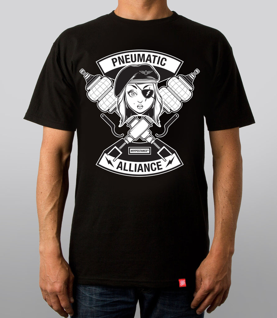 Pneumatic Alliance Graphic Tee - Hypestance