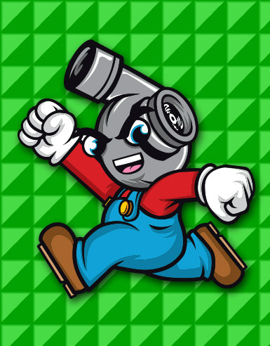 """Super Spool Bros."" Boost Hero Automotive Die Cut Sticker - Hypestance, Car sticker"