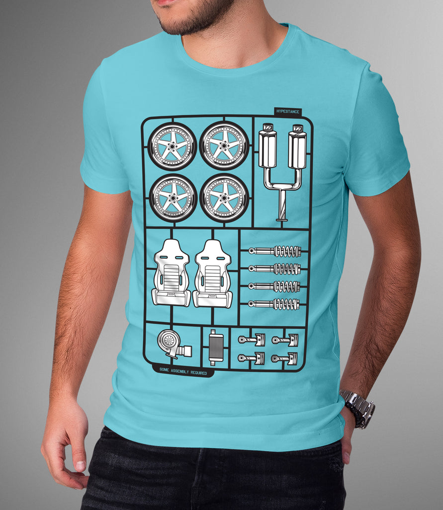 Some Assembly Required Graphic Tee - Hypestance, Car Tshirts