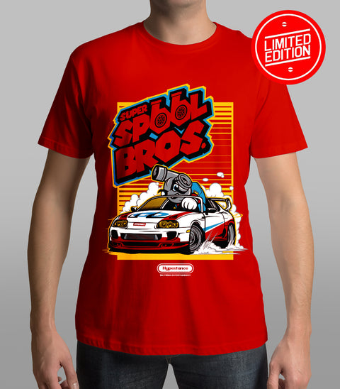 "Limited Edition  "" Super Spool Brothers Drift Shirt"" - Hypestance, Car Tshirts, Limited Edition"