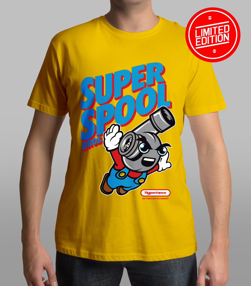 "Limited Edition  "" Super Spool Brothers Classic Shirt"" - Hypestance, Car Tshirts, Limited Edition"