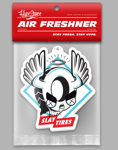 Tire Slayer Die Cut Air Freshener - Hypestance