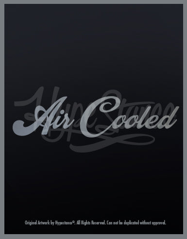 Air Cooled Sticker - Hypestance, Car sticker
