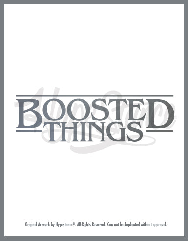 Boosted Things Loading Sticker - Hypestance, Car sticker