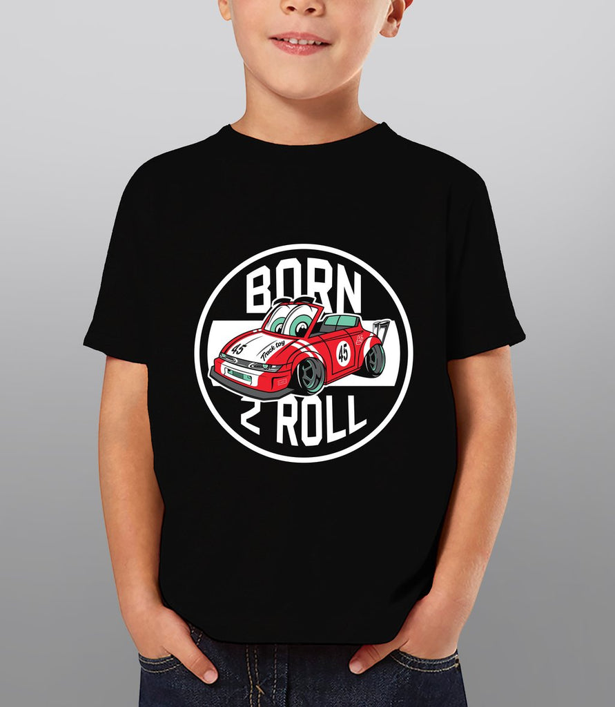 Born 2 Roll - Graphic Car Tee for Kids - Hypestance, Kids (Onesie or Tshirt)