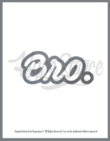 Bro Sticker - Hypestance, Car sticker