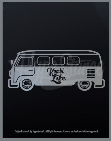 Kombi Life Sticker - Hypestance, Car sticker