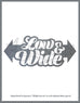 Low n Wide Sticker - Hypestance, Car sticker