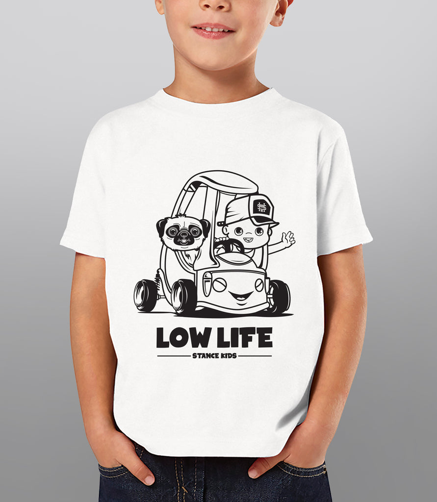 Low Life - Car shirts for kids