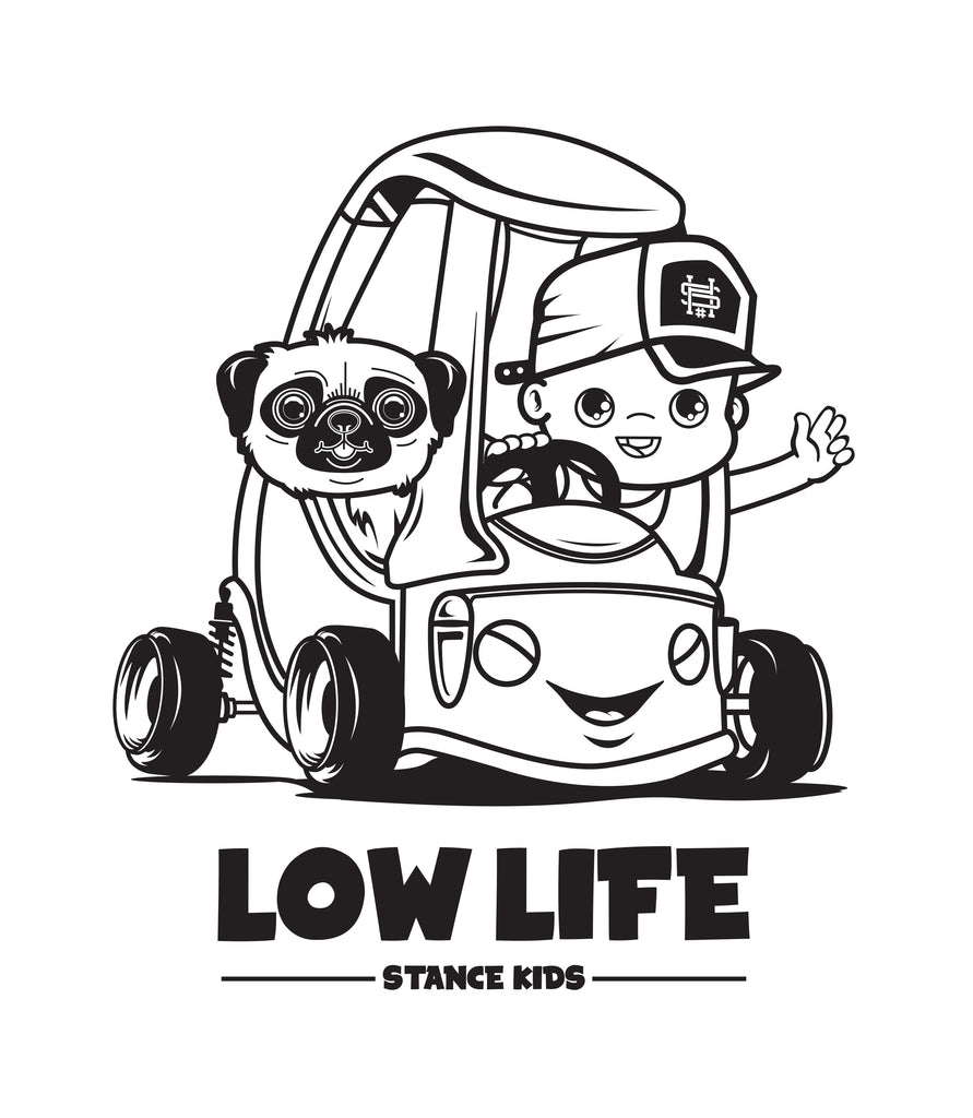 SOLD OUT- Low Life - Car shirts for kids - Hypestance, Kids (Onesie or Tshirt)