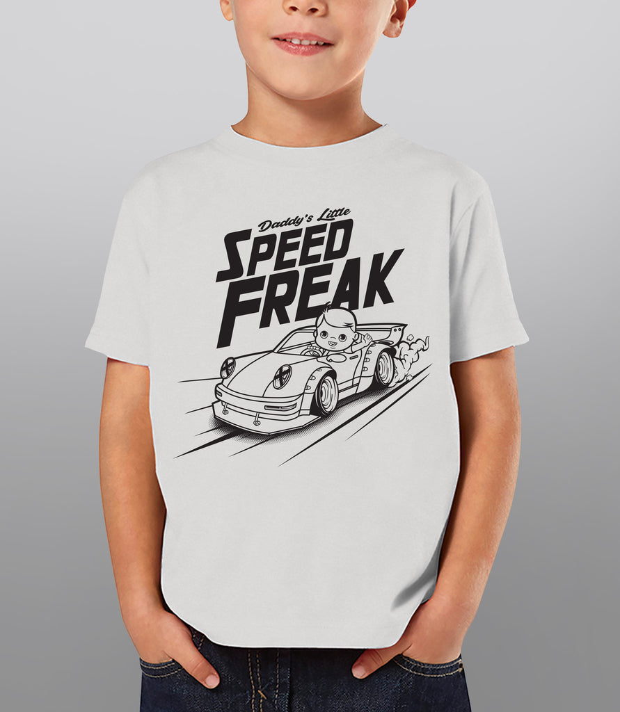 Daddy's Little Speed Freak - Car shirts for kids - Hypestance, Kids (Onesie or Tshirt)