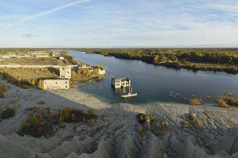 Rummu Quarry, Estonia