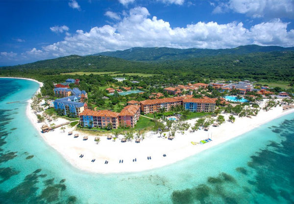 The Sandals South Coast Resort in Whitehouse, Jamaica