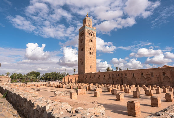 Koutoubia Mosque in Marrakesh, Morocco.