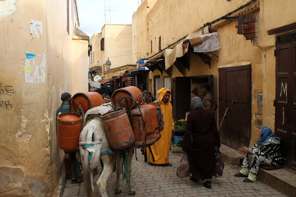 The medina in Fez, Morocco