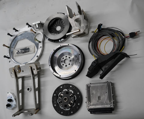 Volkswagen LT to BMW 3.0 Diesel Conversion kit - Overlanding M57