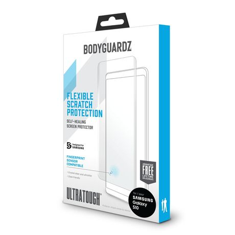 UltraTough Clear Film ScreenGuardz for Samsung Galaxy S10