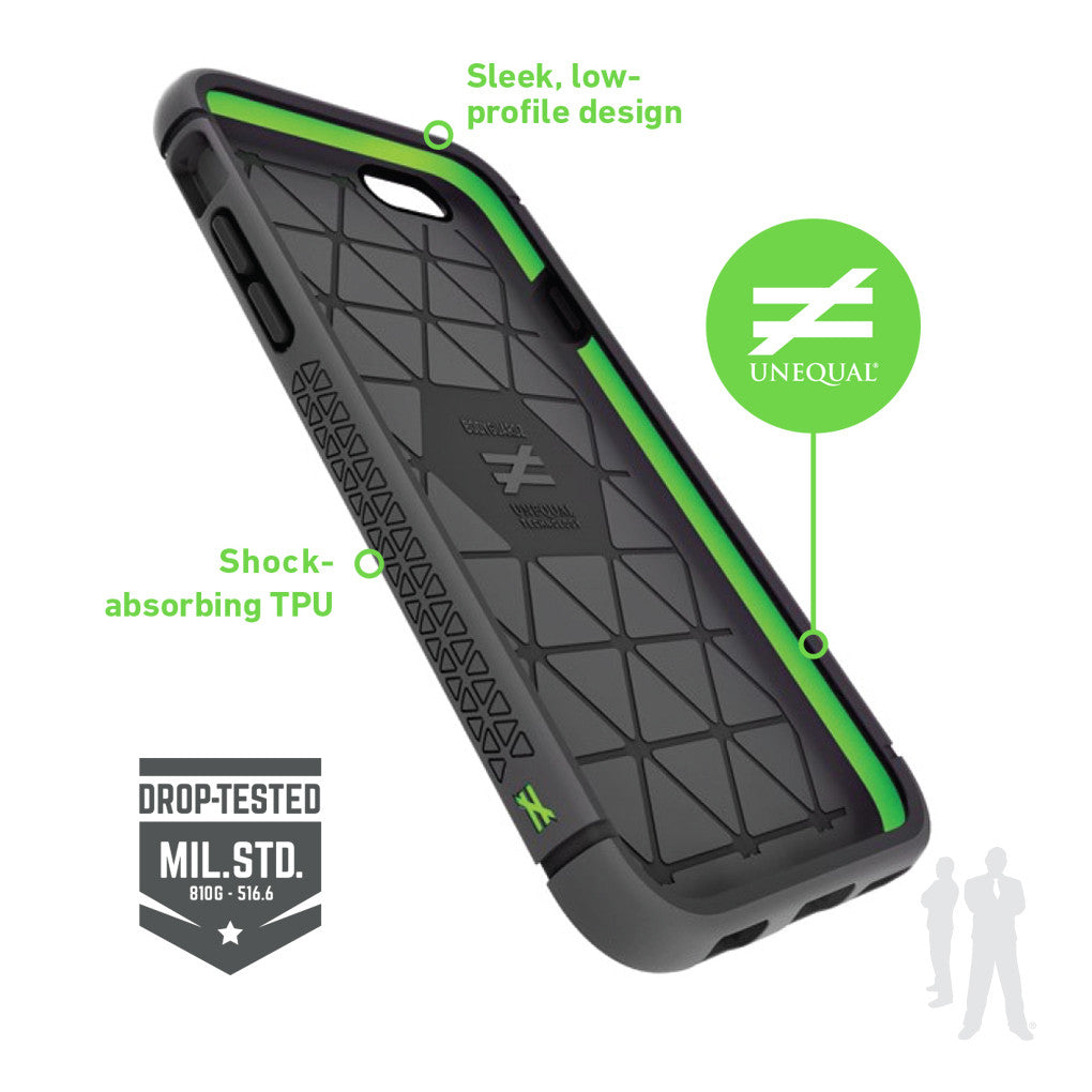 BodyGuardz Shock Case with Unequal Technology for iPhone 6/6S Plus