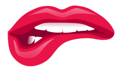 Sticker - Luscious Lips Biting #6