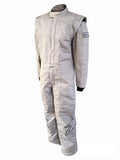 Zamp ZR-30 SFI 3.2A/5 Three Layer Race Suits, Gray or Black/White