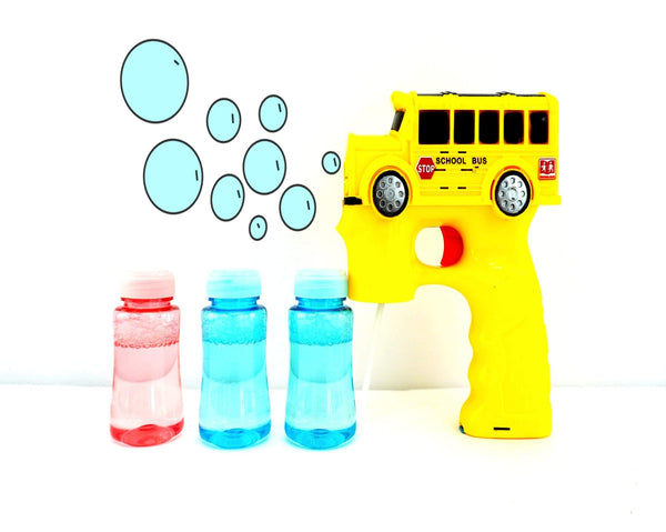 Bubble Gun - School Bus