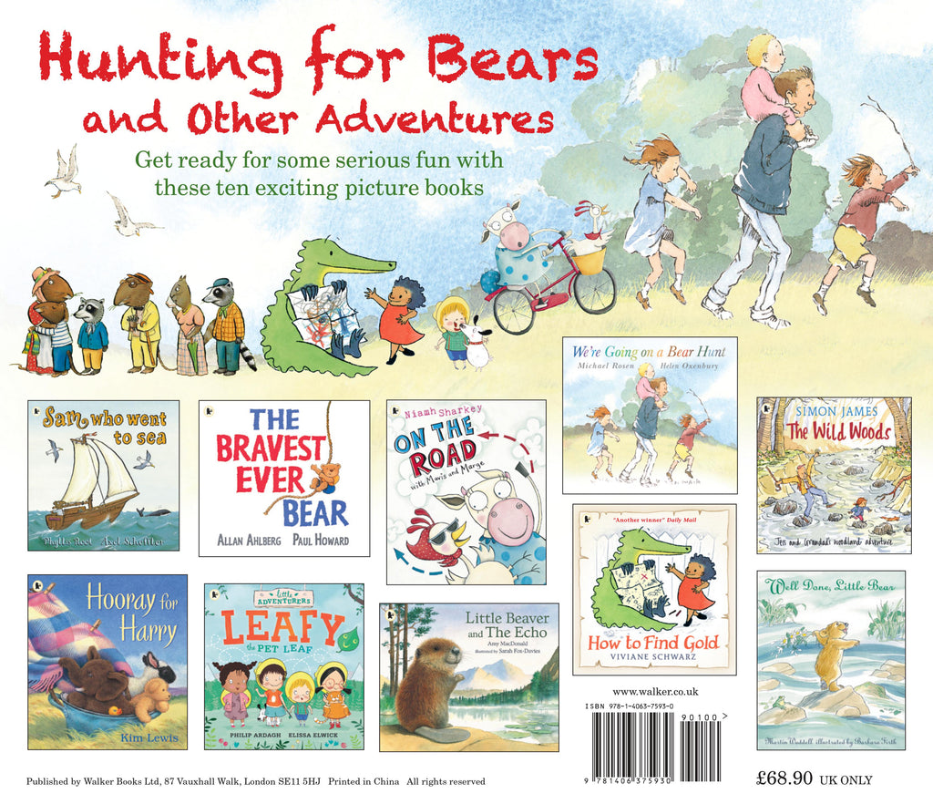 HUNTING FOR BEARS AND OTHER ADVENTURES - 10 STORYBOOK COLLECTION