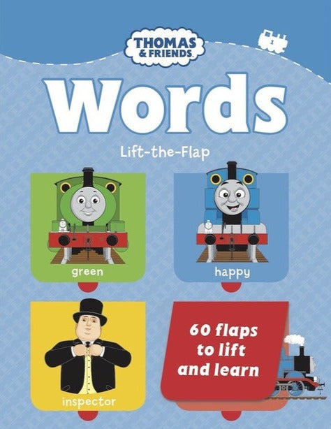 THOMAS & FRIENDS LIFT-THE-FLAP WORDS