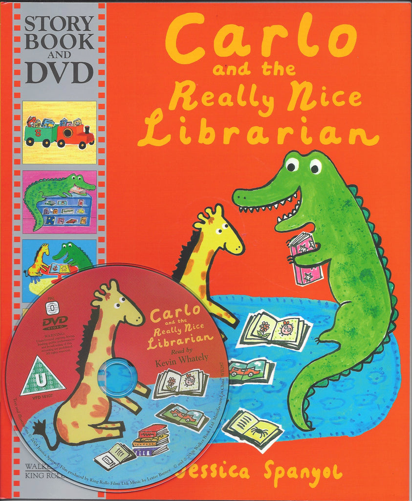 CARLO AND THE REALLY NICE LIBRARIAN STORYBOOK & DVD