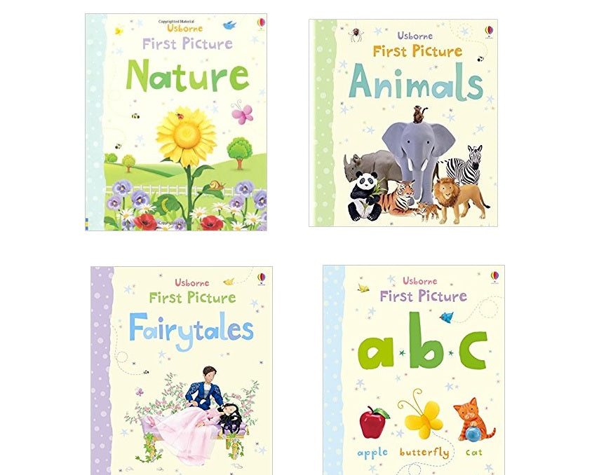 Usborne First Picture Set - 4 Books