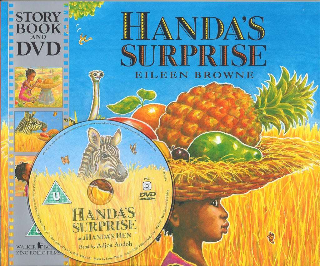 HANDA'S SURPRISE STORYBOOK & DVD - EILEEN BROWNE