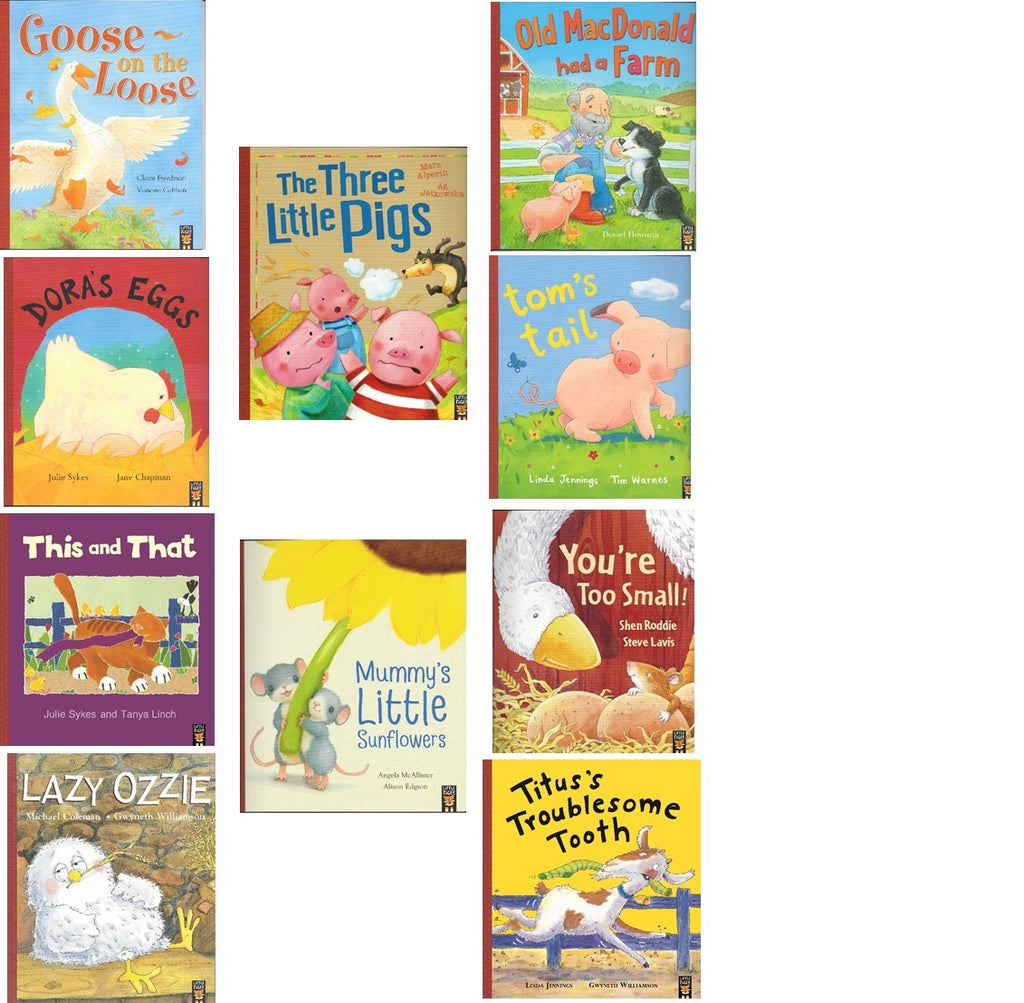 OLD MACDONALD'S FARMYARD COLLECTION - 10 STORYBOOK PACK