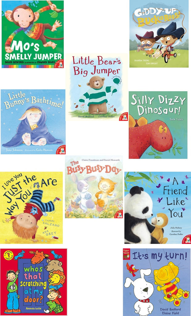 STORIES FOR ONE YEAR OLDS - 10 STORYBOOK BOX