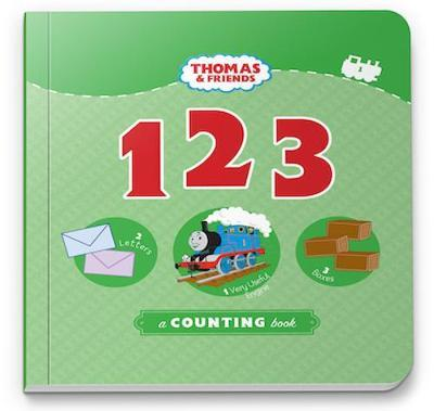 THOMAS & FRIENDS 123 - A COUNTING BOOK