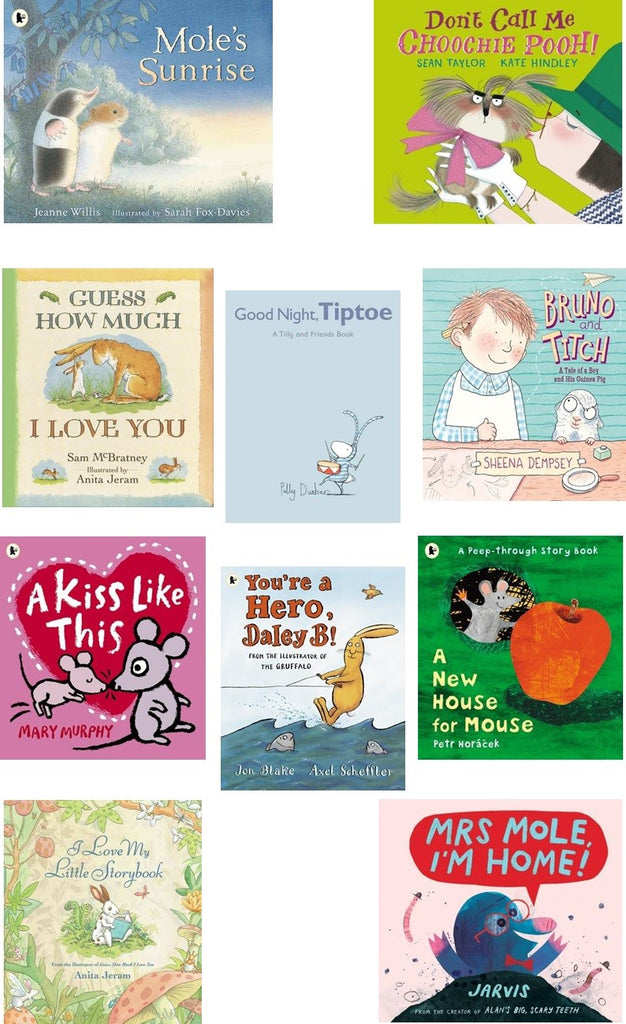 FURRY FRIENDS COLLECTION - 10 STORYBOOK PACK