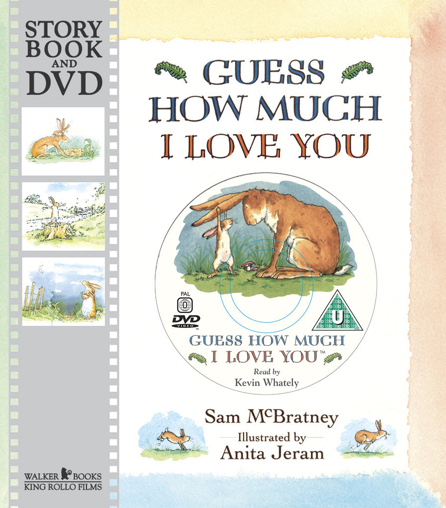 GUESS HOW MUCH I LOVE YOU - STORYBOOK & DVD
