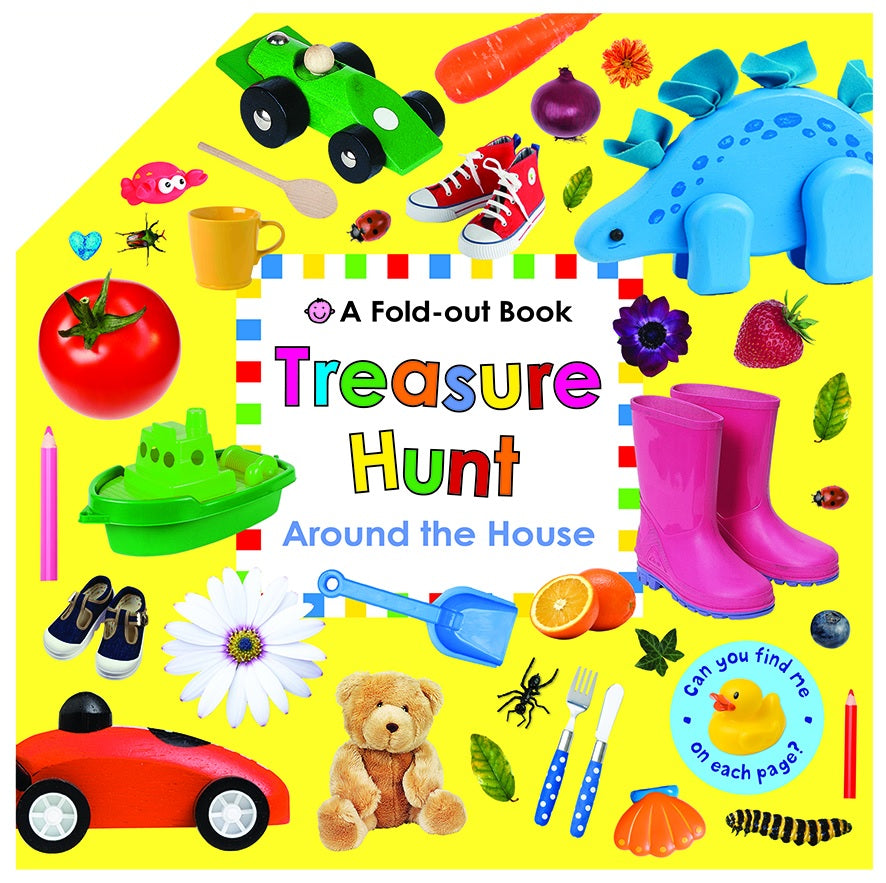 Treasure Hunt Around The House - A Fold-Out Book